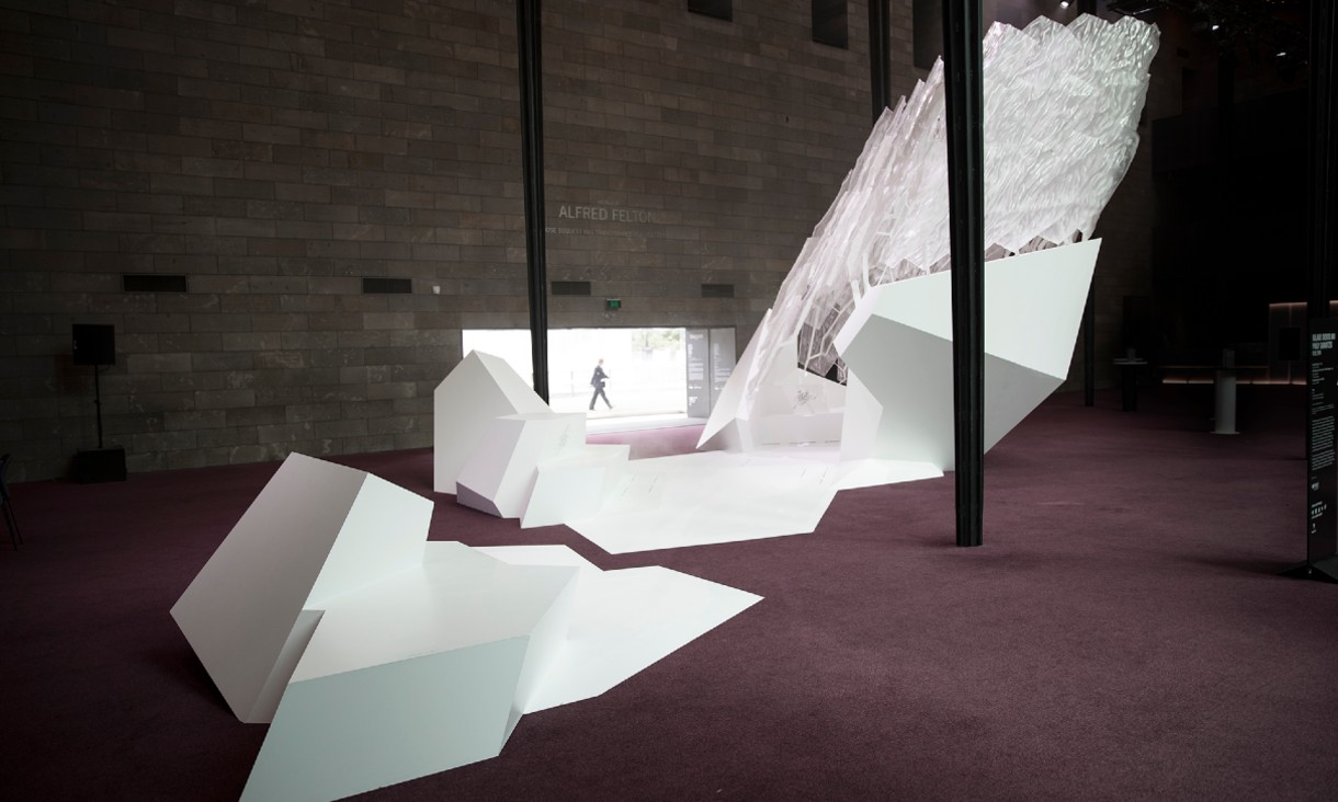 Floe installation at National Gallery Victoria