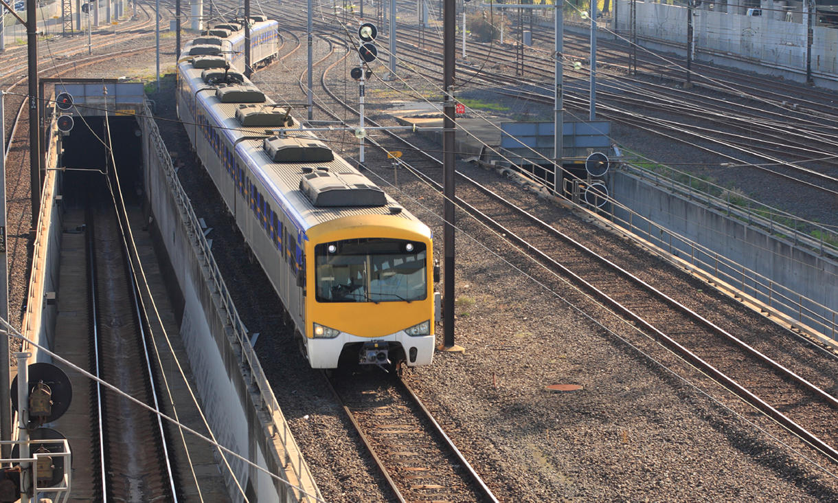 Melbourne city train