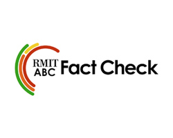 RMIT ABC Fact Check logo