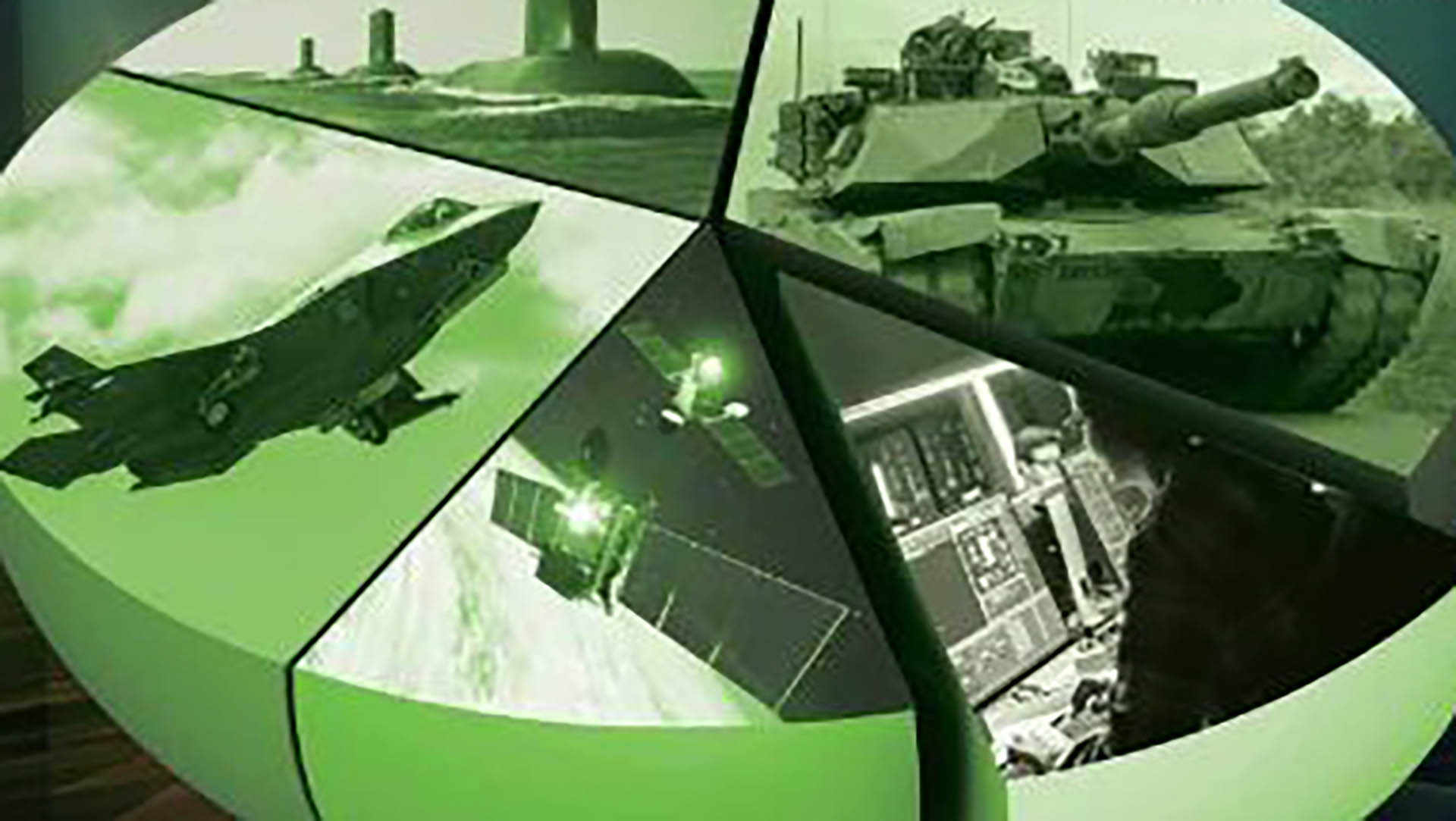 collage of defence images