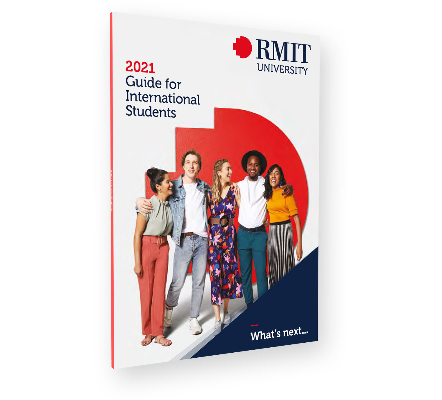 Brochure cover - 2021 Guide for International Students