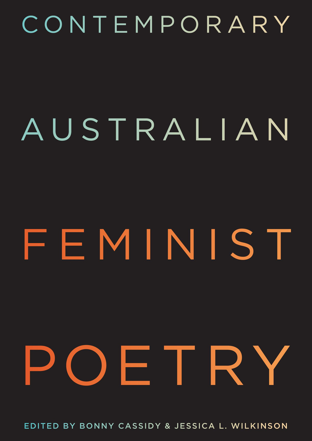 contemporary australian feminist poetry cover