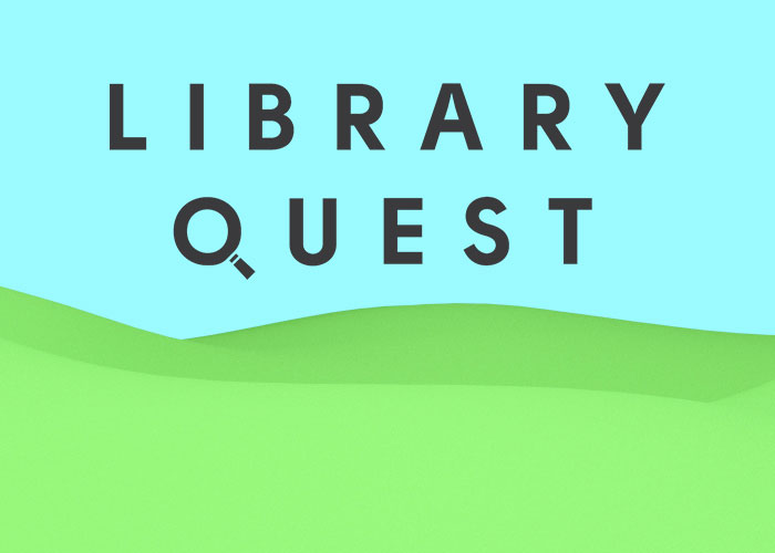 Library Quest game