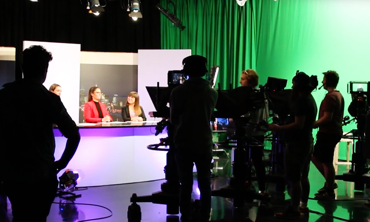 RMIT news studio
