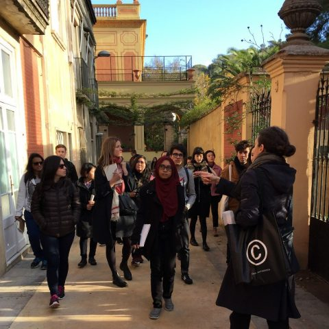 Students Examine Impact Of Speculative Planning In Barcelona