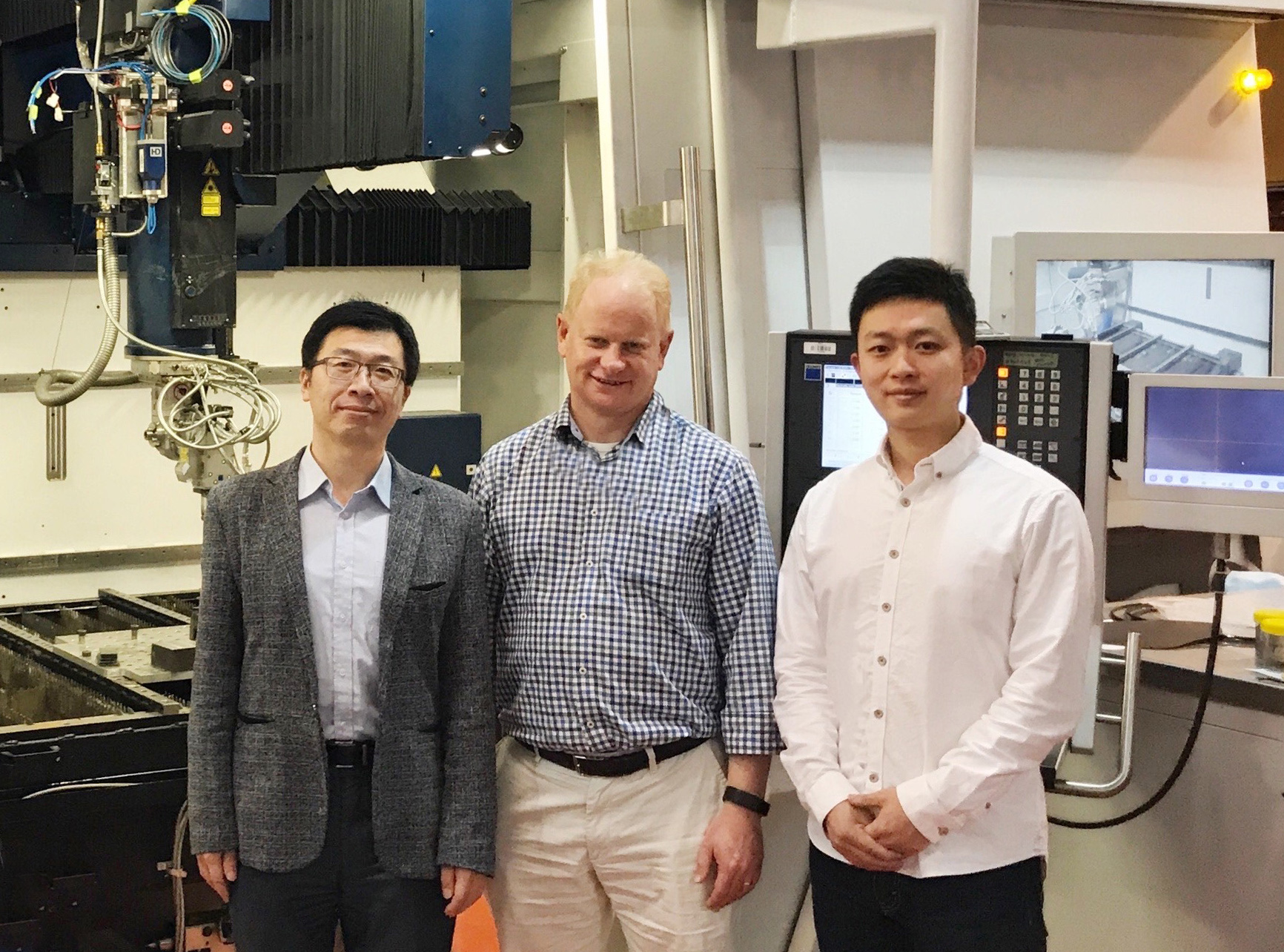 RMIT researchers involved in the multi-partner collaboration: Dr Dong Qiu, Professor Mark Easton and Dr Duyao Zhang.
