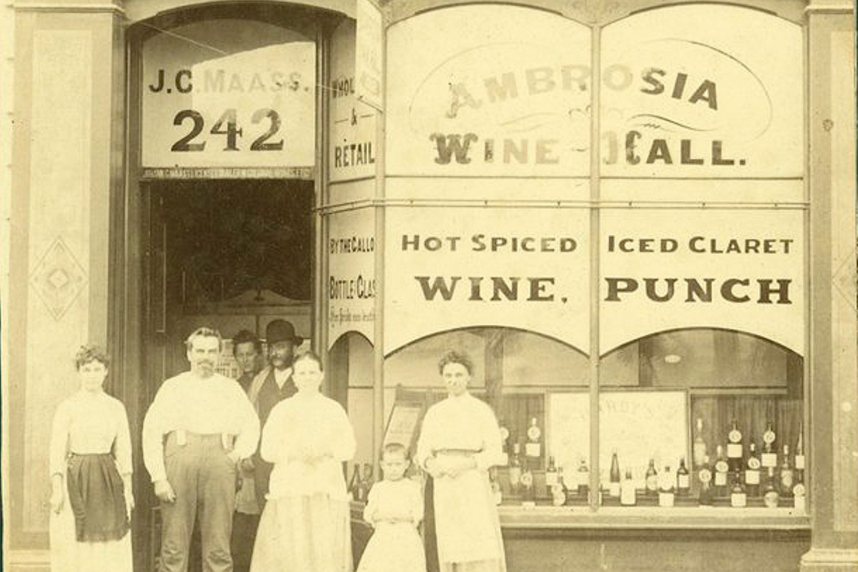 Drunk history: Bottle shops, urban life and public order