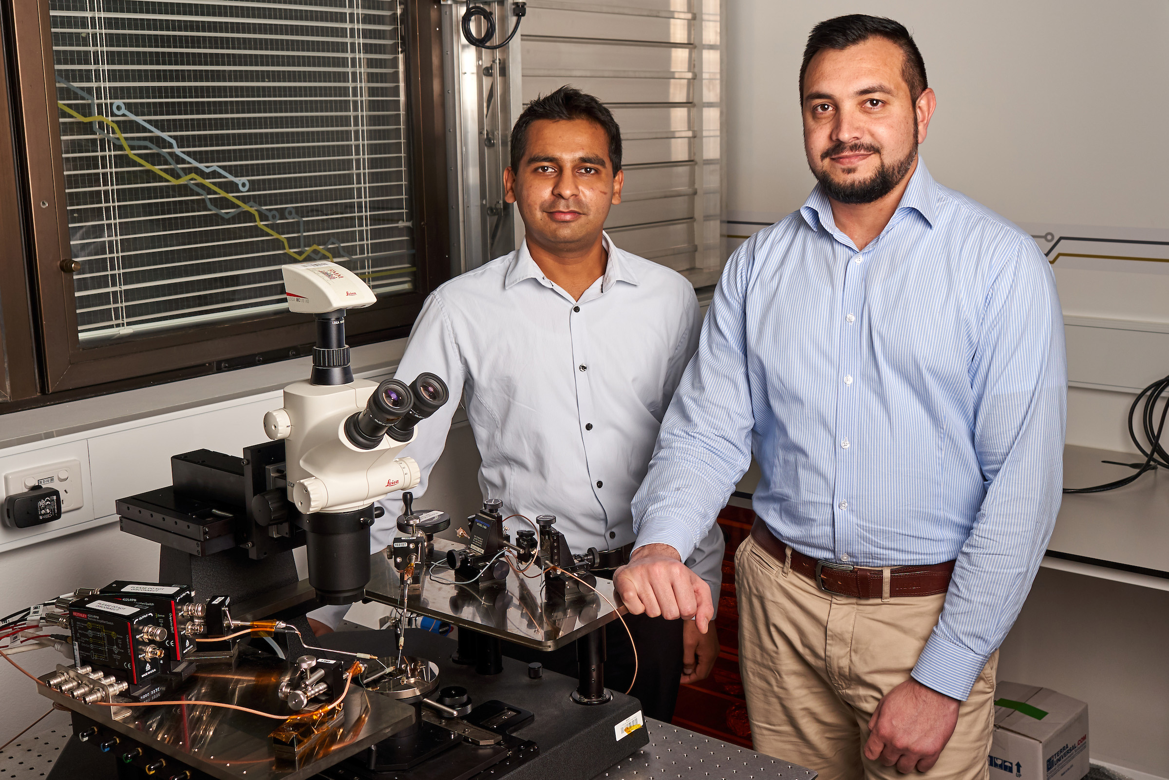 Researchers Dr Sumeet Walia and Dr Taimur Ahmed