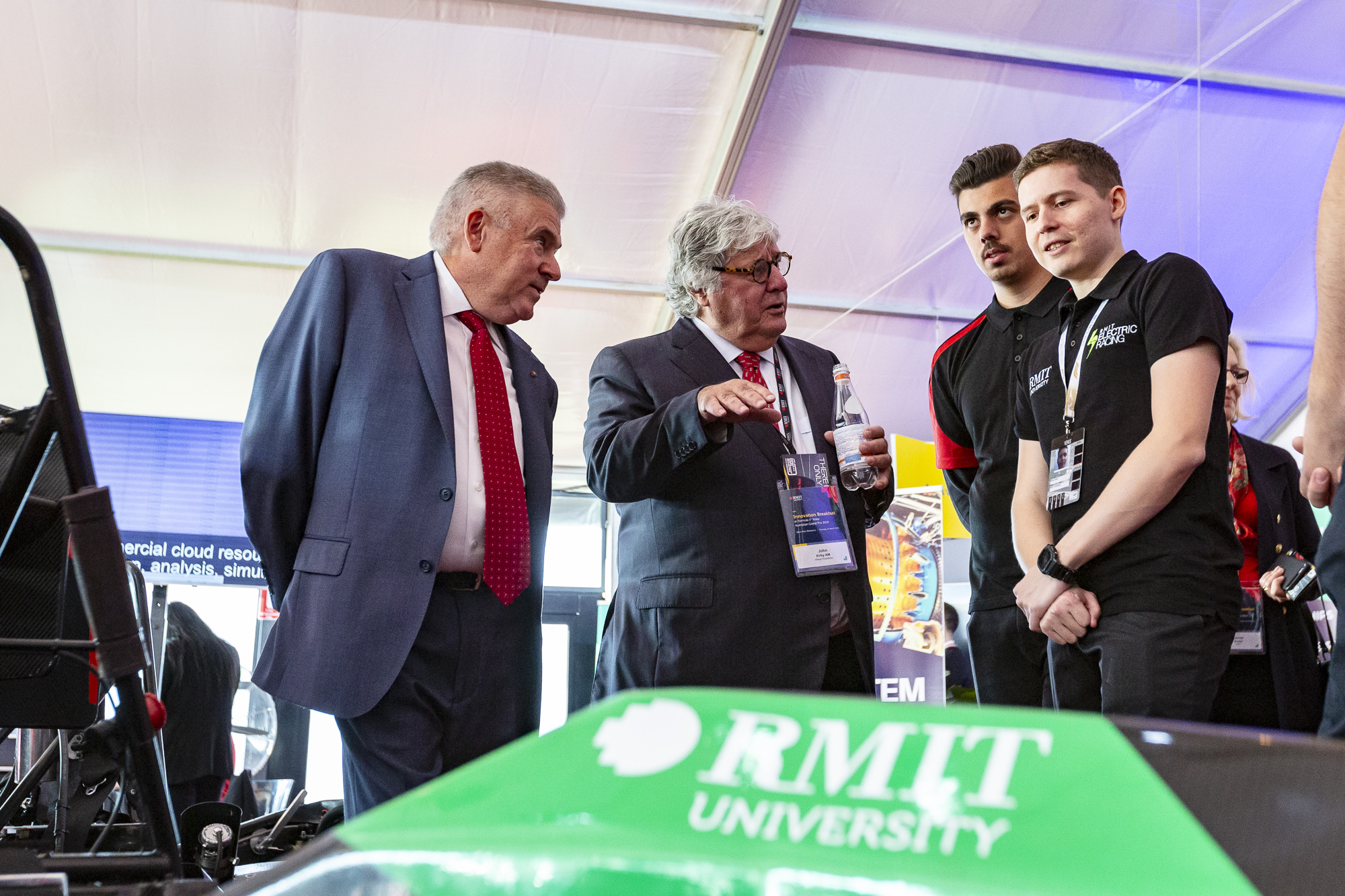 RMIT and University of Sheffield join forces at Grand Prix