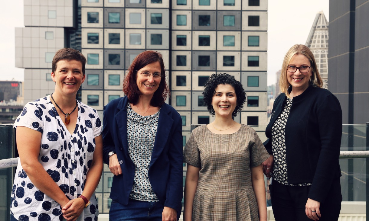 Urban experts Professor Libby Porter, Dr Annette Kroen, Dr Leila Mahmoudi Farahani and Dr Lucy Gunn through their research are helping plan the cities of tomorrow.