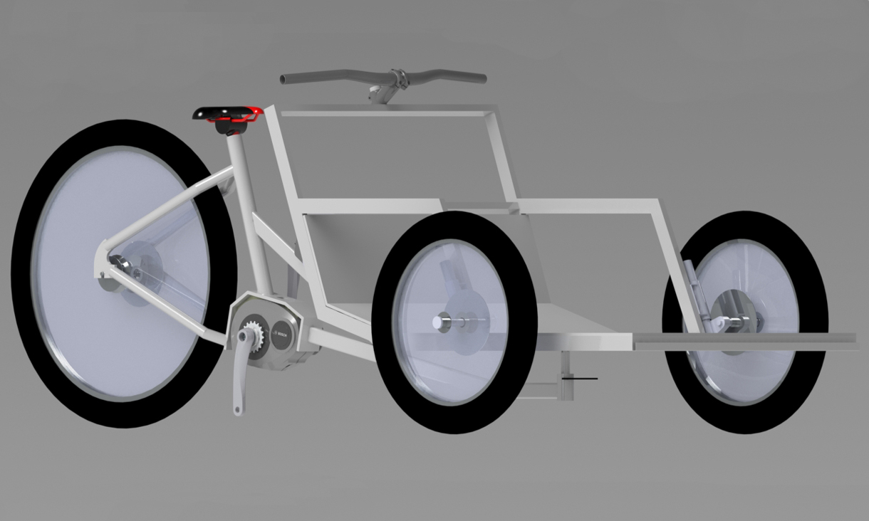 A render of the 'brike' design.
