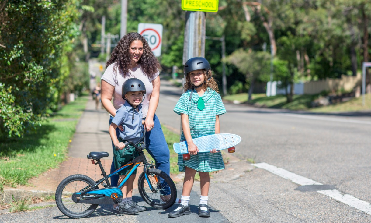 Cycling boulevards on key routes leading to schools could be trialled, along with limiting speeds on residential streets, areas around schools and other pedestrian areas to 30km/hr, says Billie Giles-Corti.