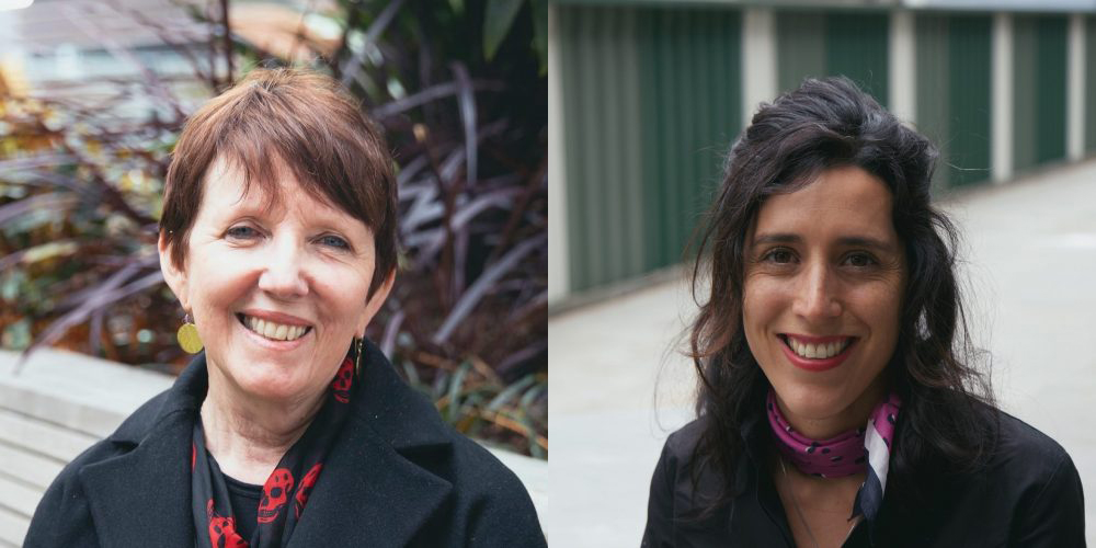 Distinguished Professor Billie Giles-Corti (left) and RMIT Vice-Chancellor Postdoctoral Fellow Dr Belen Zapata Diomedi (right) will lead the international project.