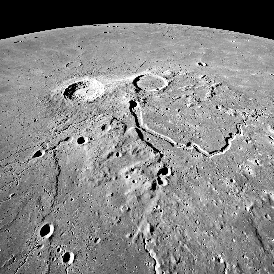 The team hopes to qualify MAPrad for space use so it can help uncover the resources available on the Moon (pictured) and Mars to support life. Credit: NASA.