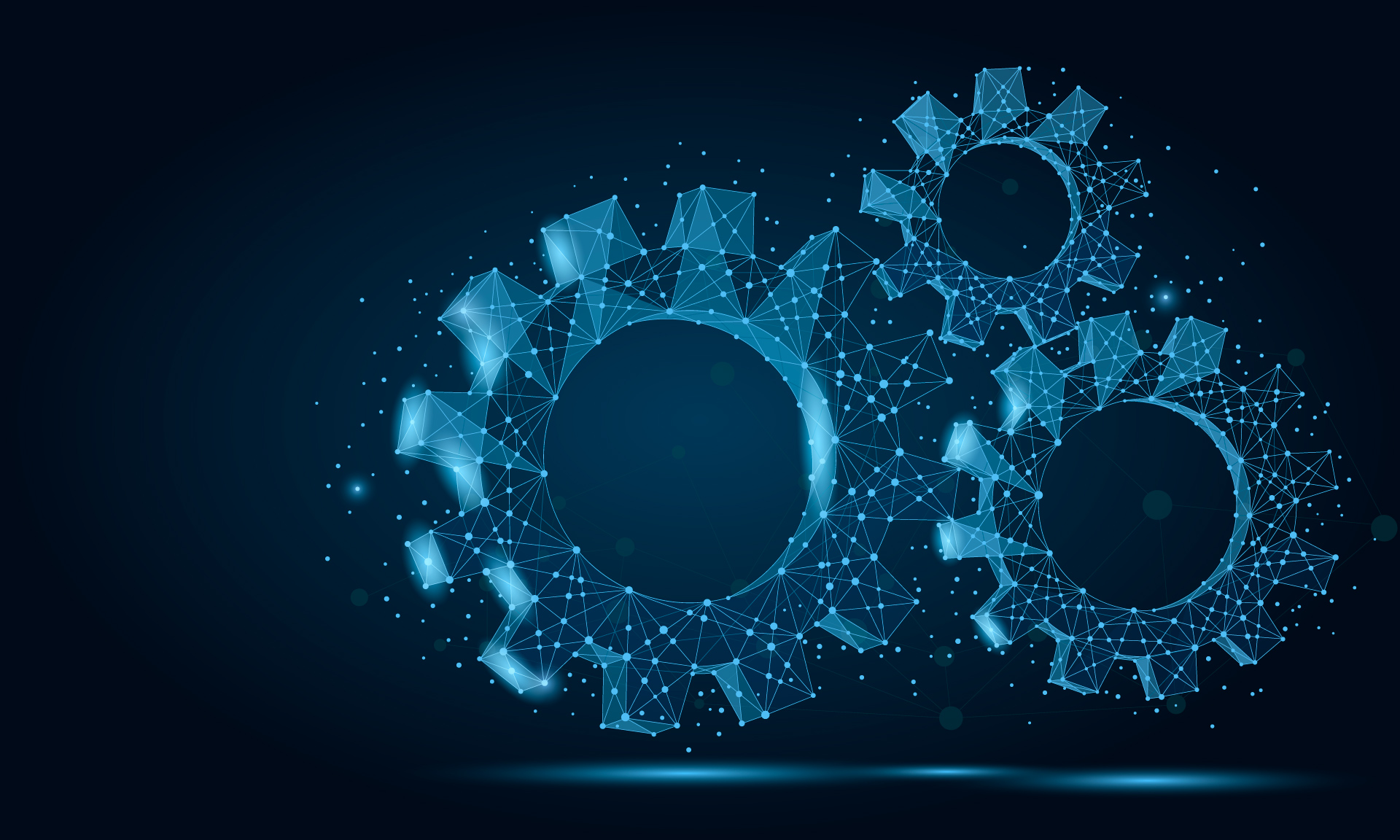 Image of blue cogs
