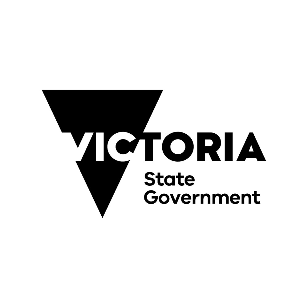 VIC state government logo.