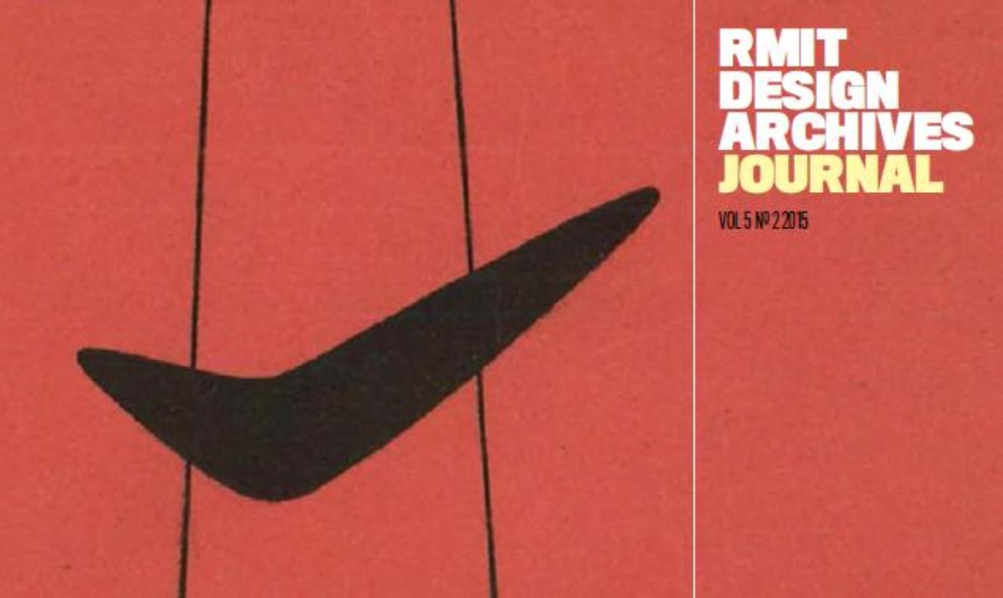 cover of RMIT Design Archives journal