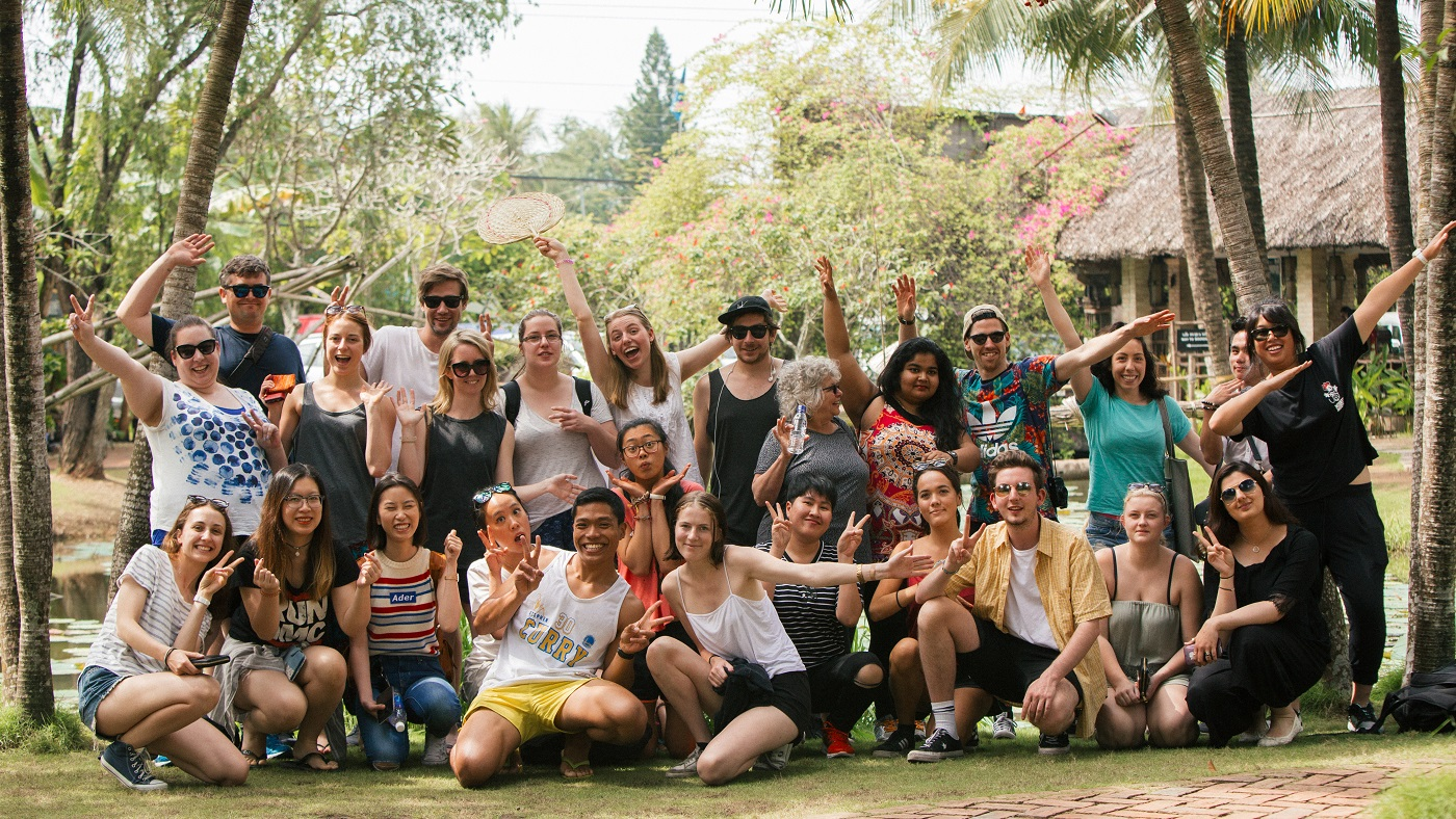 RMIT students in Asia