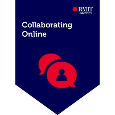 Collaborating Online badge