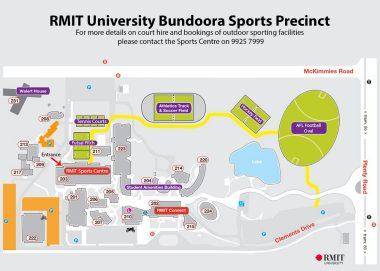 Rmit Bundoora Map RMIT Sports Centre Facilities   RMIT University