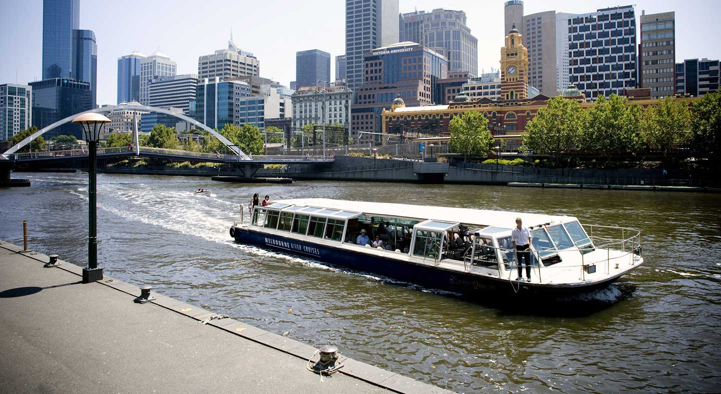 Discover Melbourne River Cruise