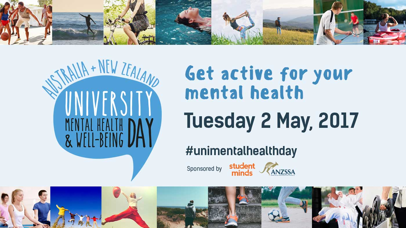 Get active for your mental health on Tuesday 2 May 2017